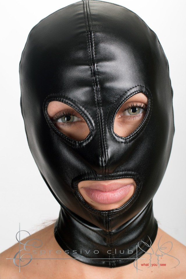 leather hoods: