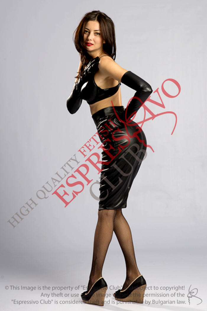 Stylish Black Leather Skirt back zip, Knee Length Pencil Skirt , bdsm, fetish party, fetish clothing, what to wear on a party, leather skirt, dominatrix clothing, submissive clothing, knee lenght leather skirt, pencil leather skirt, bdsm party, bdsm event